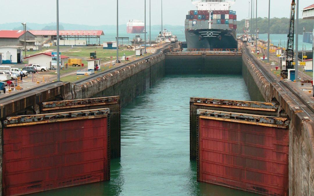 Schleuse des Panama-Kanals