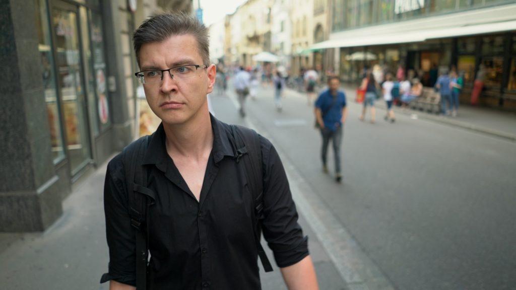 Foto von Steve Void, aufgenommen auf einer Strasse in Basel