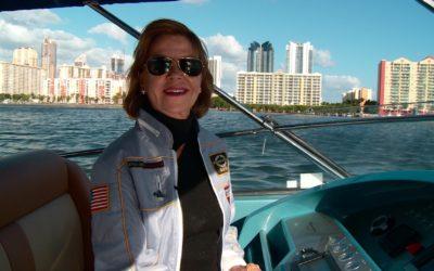 Magnum Marine: Am Steuer steht eine Frau
